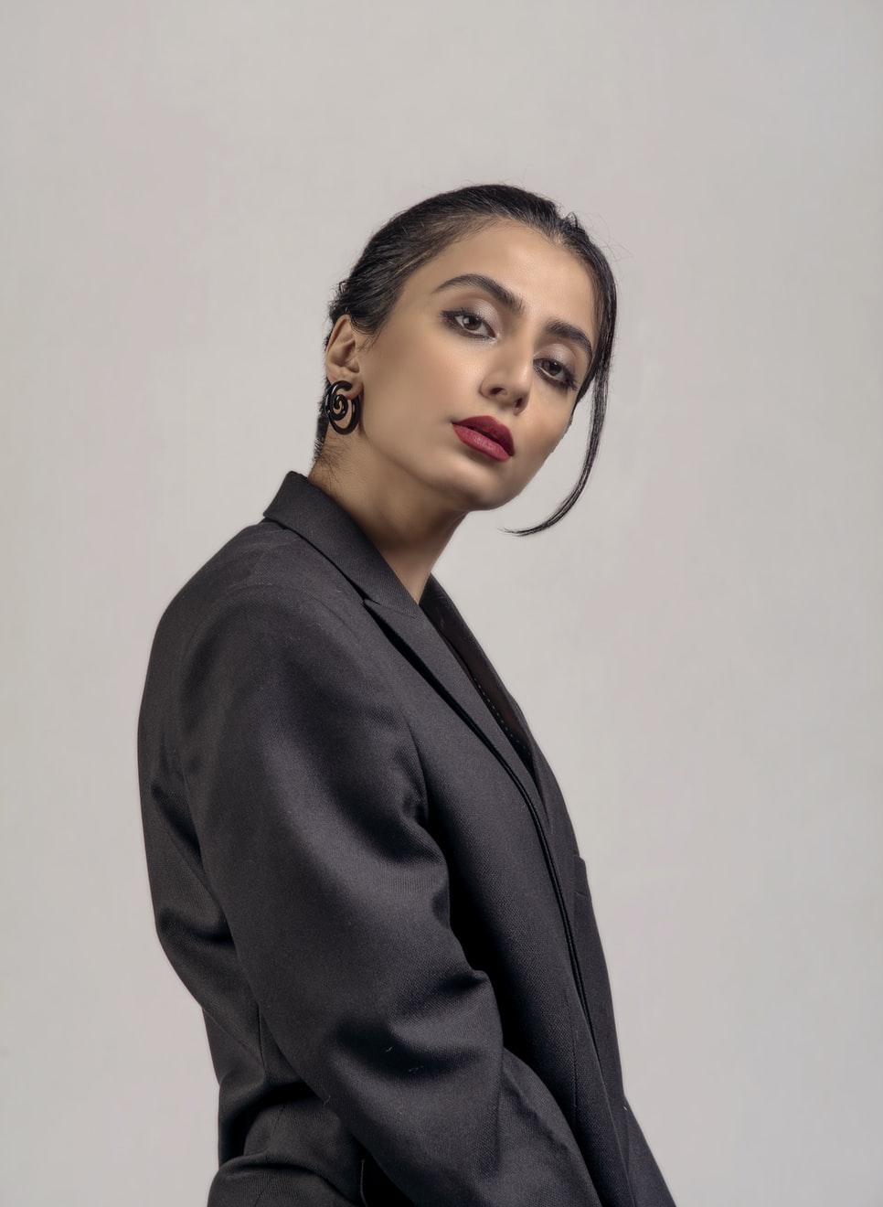 She goes from CEO to latex BIMBO